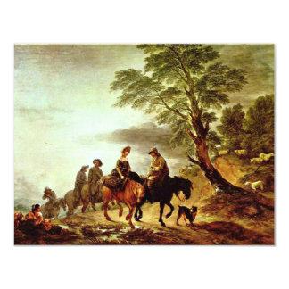 Paseo al mercado de Thomas Gainsborough ( Comunicados