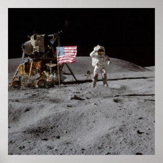Paseo americano de la luna impresiones