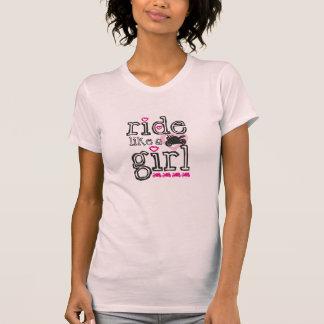 Paseo como un chica - Sportbike Camiseta