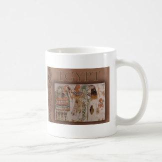 Paseo como un egipcio tazas de café