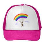 Paseo con el gorra del arco iris