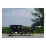 Paseo con errores de Amish Tarjetas