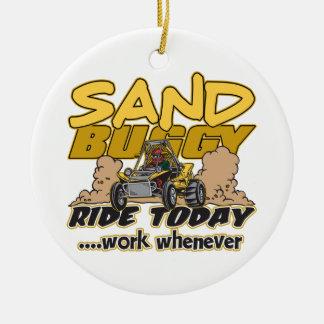 Paseo con errores de la arena hoy ornamento para reyes magos