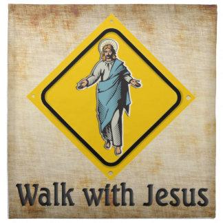 PASEO CON JESÚS SERVILLETAS
