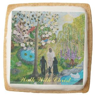 Paseo con las galletas de torta dulce de Cristo