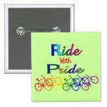 Paseo con los regalos lesbianos gay del ciclista d pin