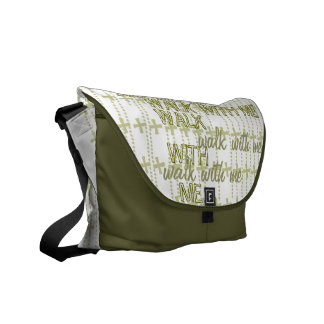 Paseo conmigo la bolsa de mensajero bolsas de mensajeria