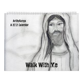 Paseo conmigo un calendario 2012