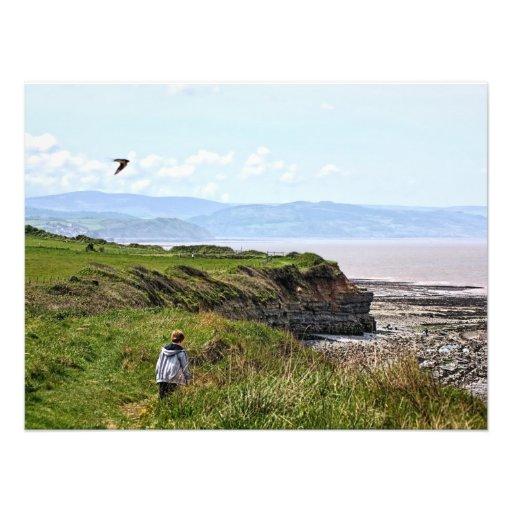 Paseo costero impresiones fotograficas