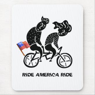 Paseo de América del paseo Alfombrilla De Ratón