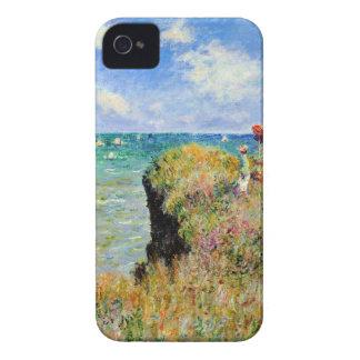 Paseo de Claude Monet Clifftop Case-Mate iPhone 4 Carcasa