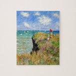 Paseo de Claude Monet Clifftop Puzzle Con Fotos