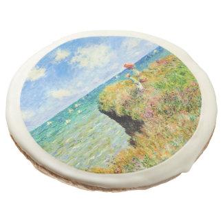 Paseo de Clifftop en Pourville de Claude Monet