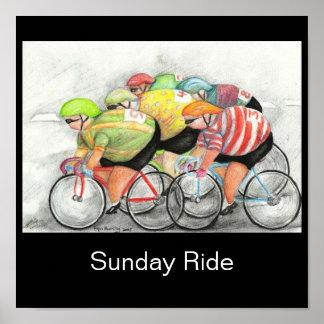 Paseo de domingo póster