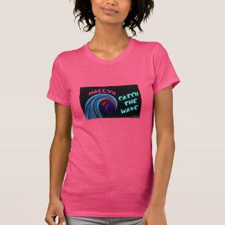 Paseo de Hallyu la camiseta de la onda Playera
