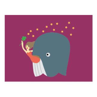paseo de la ballena postales