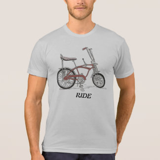 Paseo de la bici del músculo de Apple Krate de la  T Shirt