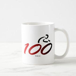 Paseo de la bici del siglo taza de café
