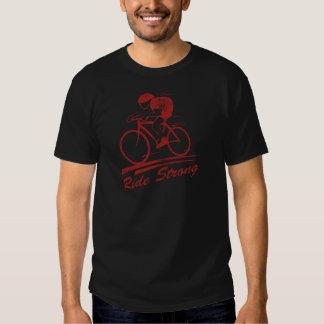 Paseo de la bicicleta fuerte playeras
