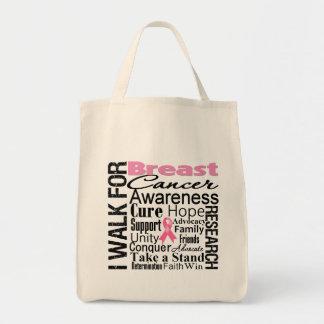 Paseo de la conciencia del cáncer de pecho bolsa
