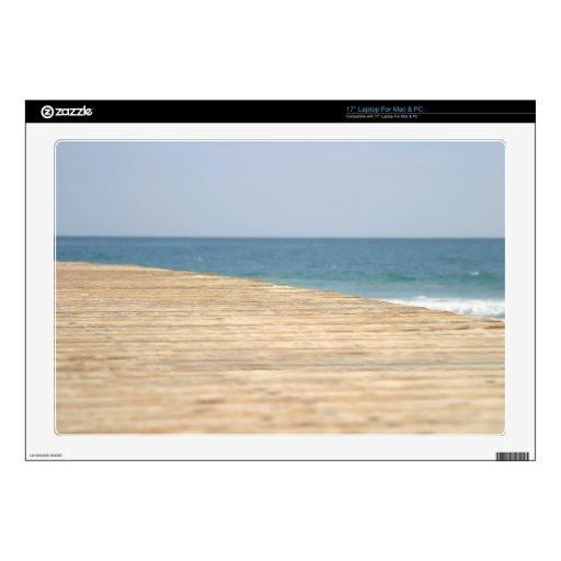 Paseo de la playa calcomanía para 43,2cm portátil