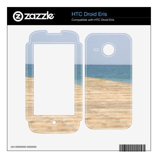 Paseo de la playa HTC droid eris skins