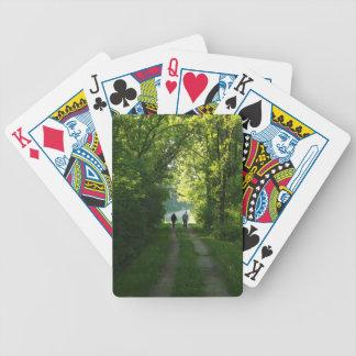 Paseo de la tarde baraja de cartas