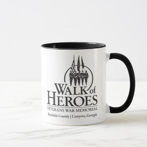 Paseo de la taza de los héroes 2-Sided