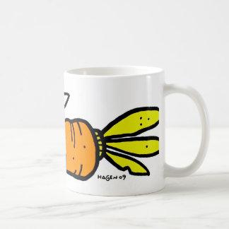 Paseo de la zanahoria taza de café