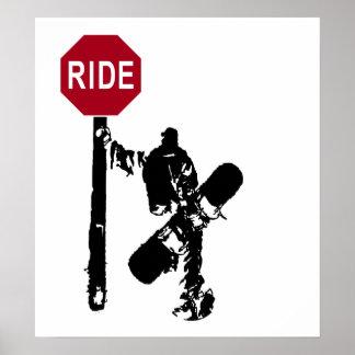 ¿paseo de las direcciones…? póster