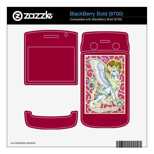 Paseo de los ángeles en 4 la piel intrépida de Bla BlackBerry Bold Calcomanías