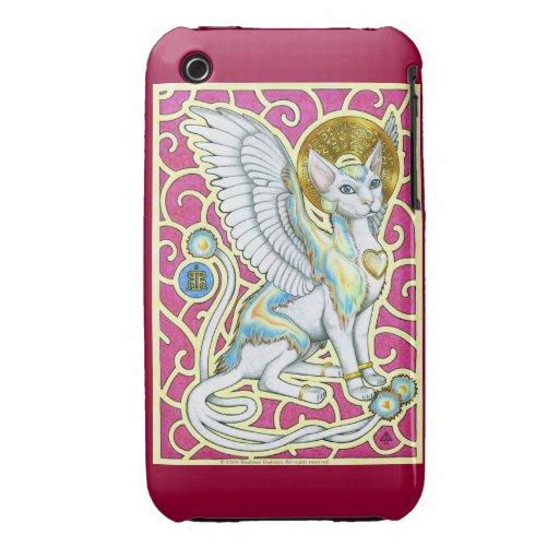 Paseo de los ángeles en 4 patas funda para iPhone 3 de Case-Mate