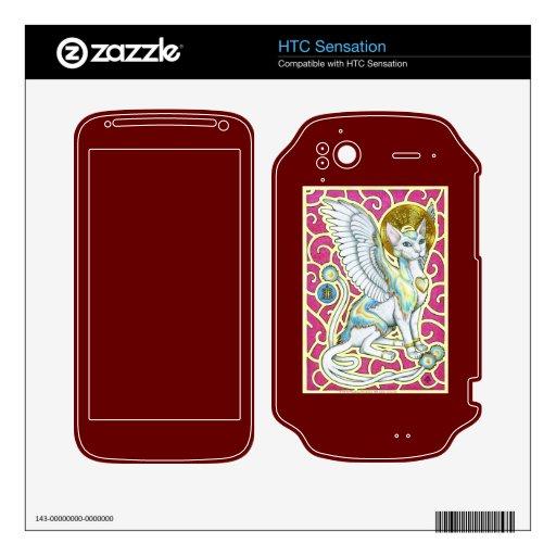 Paseo de los ángeles en piel de la sensación de HT HTC Sensation Calcomanías