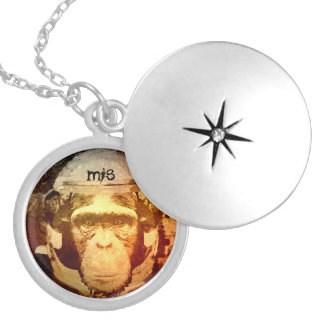 Paseo de Mi$ el collar del Locket de la iluminació