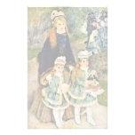 Paseo de Pierre-Auguste Renoir (la mejor calidad) Papeleria
