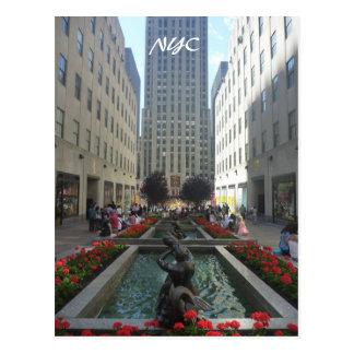 paseo de Rockefeller Tarjetas Postales