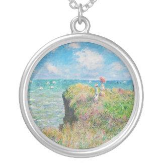 Paseo del acantilado de Monet en el collar de Pour