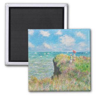 Paseo del acantilado de Monet en el imán de Pourvi