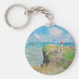 Paseo del acantilado de Monet en el llavero de Pou
