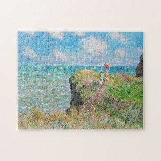 Paseo del acantilado de Monet en el rompecabezas d