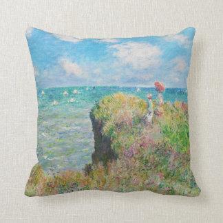 Paseo del acantilado de Monet en la almohada de Po