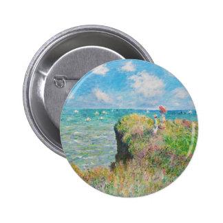 Paseo del acantilado de Monet en los botones de Po Pin