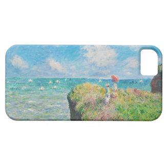 Paseo del acantilado de Monet en Pourville iPhone 5 Case-Mate Funda