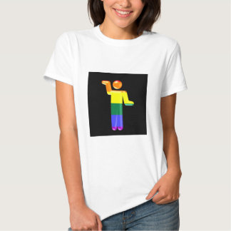 Paseo del arco iris como un egipcio camisas