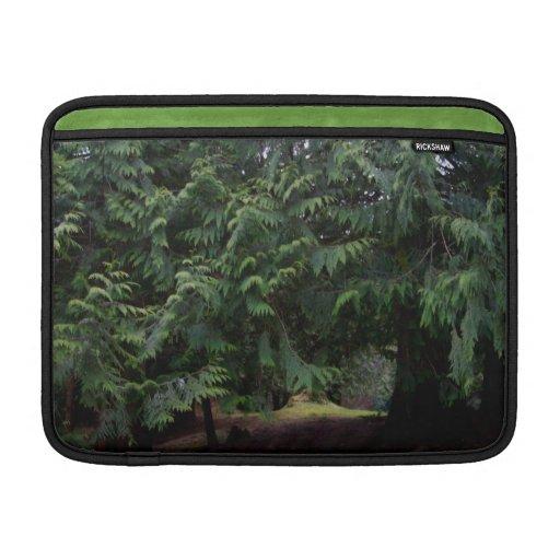 Paseo del bosque funda para macbook air