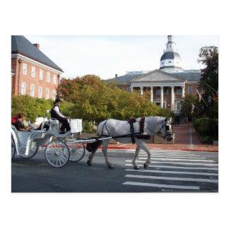 Paseo del caballo y del carro de Annapolis Postales