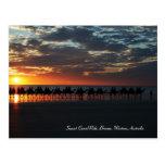 Paseo del camello de la puesta del sol, Broome, Postal
