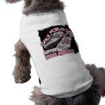 Paseo del cáncer de pecho para los zapatos de una  camisa de perro