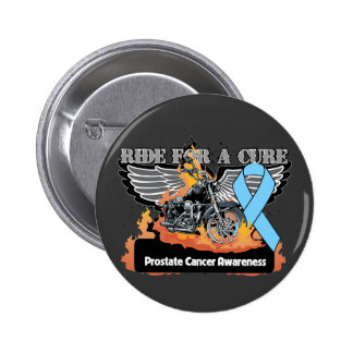 Paseo del cáncer de próstata para una curación pin redondo de 2 pulgadas