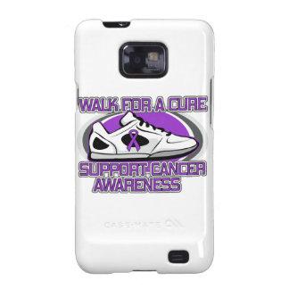 Paseo del cáncer del ESENCIAL para una curación Samsung Galaxy S2 Carcasa